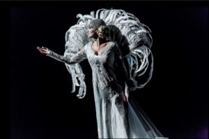 Królowa Śniegu, przedstawienie